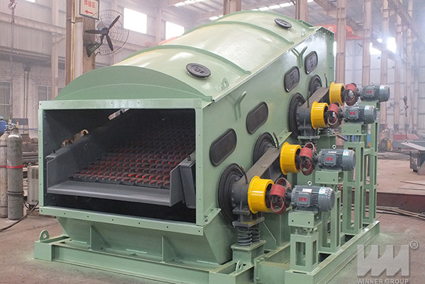 Composite Frequency Vibrating Screen