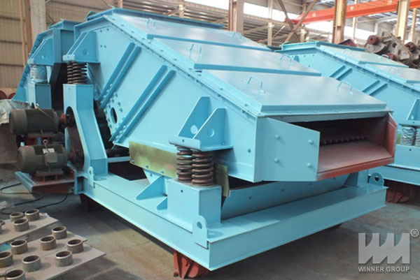 Heavy linear vibrating screen