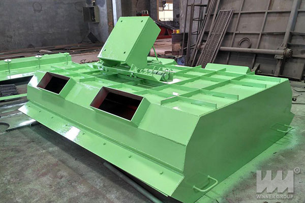 arc vibrating screen