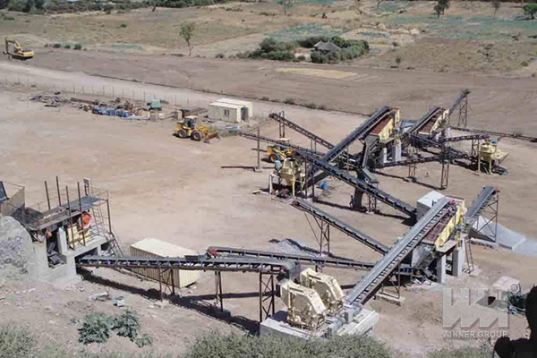 stone production line equipment