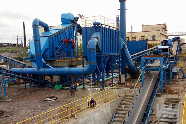 construction waste treatment plant