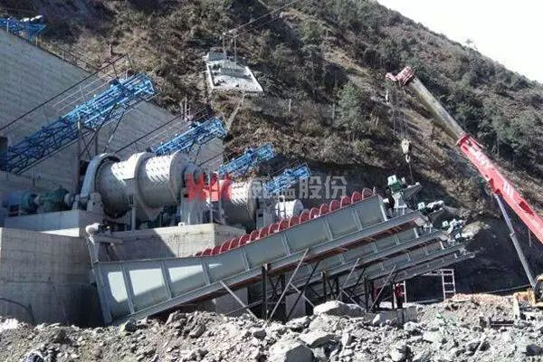 sand and gravel aggregate processing,crushing and screening