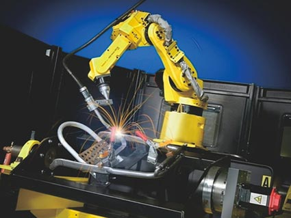 Intelligent CNC Welding Robot