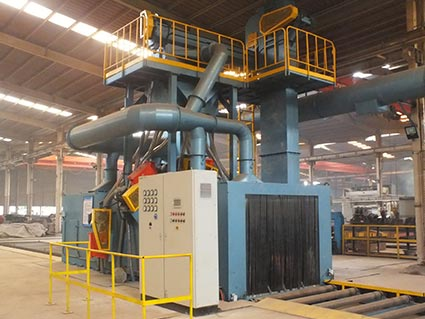 Roller Continuous Shot Blasting Machine