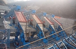 220-430TPH stone and sand making line