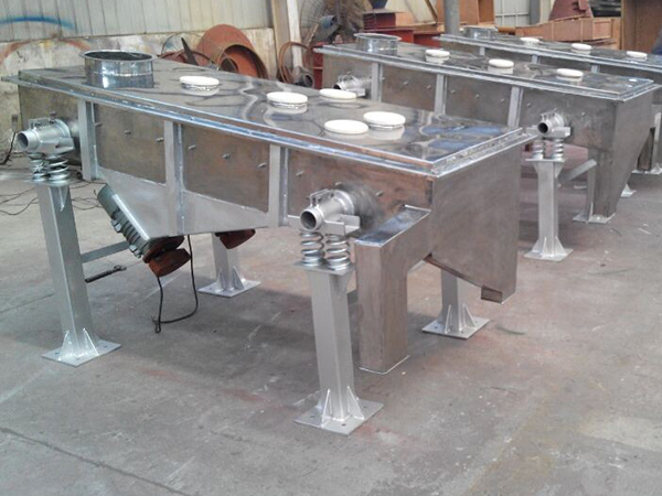 The Use of Linear Vibrating Screen