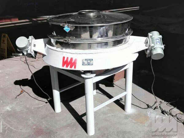 direct discharge vibrating screen