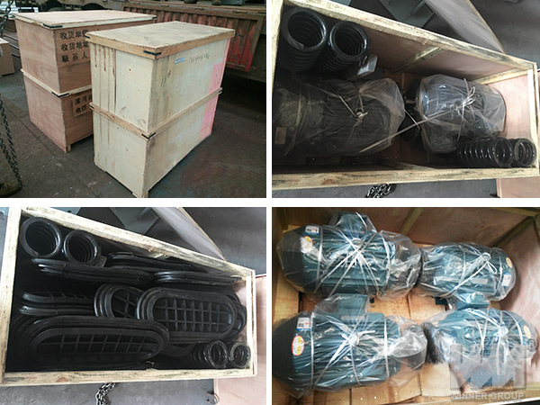 Double Frequency Vibrating Screen Packing
