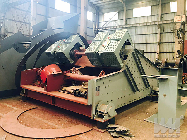 maintenance of vibrating screen
